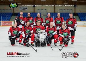 Ditmarsia - Fort St. John Oilmen's Hockey Tournament